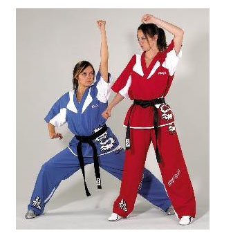 Now, when you think about karate uniforms, what's the first thing that